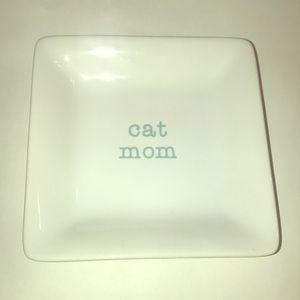 """Cat Mom 4.5"""" Keepsake Dish"""